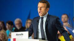 Marseille 1er avril  : Survolté, Macron, en France, voit des français !  (+ vidéo)