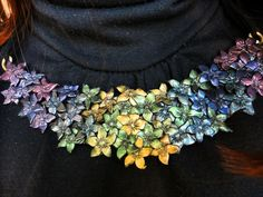 Necklace by Valendrane Fimo