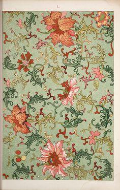 Старый гербарий - Owen Jones , 1809-1874