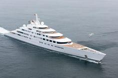 Sheikh Khalifa, dono do yacht mais caro do mundo | #EmiradosÁrabesUnidos, #FotoDoDia, #SheikhKhalifa, #Yatch, #ZacharyStieber