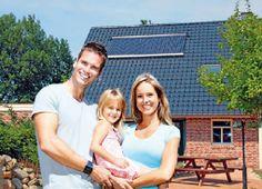 Homeplaza - Solarthermie: So sichern sich auch Bauherren eine Förderung - Von der Sonnenenergie profitieren