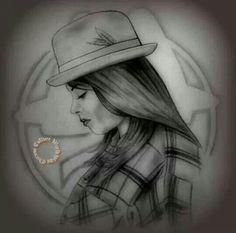 Art....love the hat♥