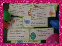 The Writing Penguin?  {Egg Hunt Fun}