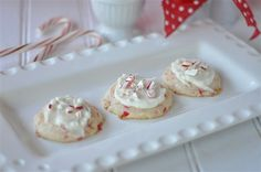 Peppermint Melting Moments