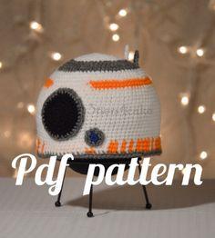 BB8 Hat Crochet Pattern by 3tiers4cake on Etsy
