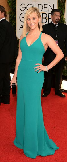Reese Witherspoon at Golden Globes 2014