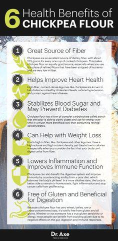 Chickpea flour benefits - Dr. Axe http://www.draxe.com #health #holistic #natural