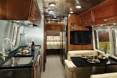 I could camp in one of these. 2016 Airstream Flying Cloud Travel Trailer | Airstream