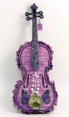 Music in purple.