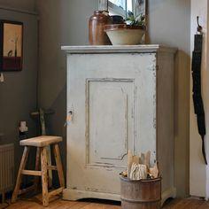 Cupboard ▇  #Vintage #Home #Decor  via - Christina Khandan  on IrvineHomeBlog - Irvine, California ༺ ℭƘ ༻