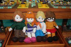 Olha a turminha do Scooby Doo! A versão é do Parece Gente (crédito da foto: reprodução Facebook Parece Gente)
