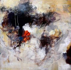 Eruption by Amy Longcope. Acrylic/ Mixed Media on Gallery wrapped stretched canvas.