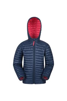 Mountain Warehouse Polar Kids Padded Jacket - Water Resistant Girls & Boys Puffer Jacket, 2 Front Pockets, Microfibre Winter Coat - Ideal for Walking, Travelling, Hiking Boys Puffer Jacket, Puffer Jackets, Winter Jackets, Autumn Coat, Winter Coat, Padded Jacket, Boy Outfits, Warehouse, Travelling