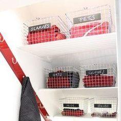 basement storage above stairs