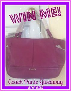 Coach Purse Giveaway http://madamedeals.com/coach-purse-giveaway-5/ #giveaway #contest #inspireothers