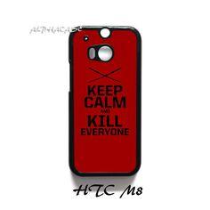 Deadpool Keep Calm HTC One M8 Case