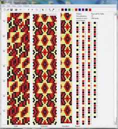геометрия : формат dbb и jbb : Схемы для вязаных жгутов : Файлы : jbead