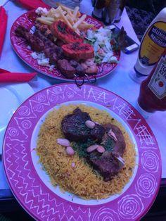 Kabse arabic food