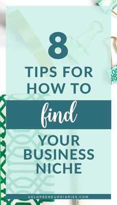 Struggling to find the right niche for your solopreneur business? Here are 8 actionable tips and ideas to help you choose a niche for your online business or blog. Plus download your free printable workbook! Business Planning, Business Ideas, Creative Business, Resume Tips, Business Entrepreneur, Blogging For Beginners, Getting Things Done, How To Start A Blog, Online Business