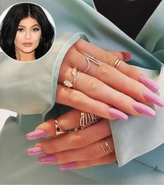 Celebs Who Love Their Talon Nails | People - Kylie Jenner