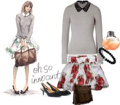 """""""first day of classes"""" by vanessashark on Polyvore"""