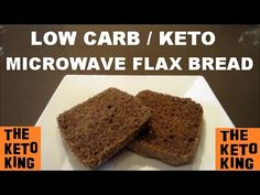 Low Carb Flax Microwave Bread– ONLY 3 MINS!! | Keto Microwave Bread ǀ Lo...