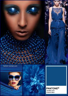 Pantone Color of the Year 2020 is officially announced: Classic Blue! In we'll be enjoying the classic elegance and calm of the Classic Blue color hue Pantone Azul, Pantone 2020, Pantone Color, Fashion Colours, Blue Fashion, Fashion Outfits, Classic Fashion, Fashion Vintage, Jean Outfits