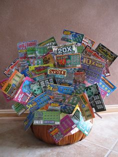 10000 illinois lottery instant ticket basket just one of the great prizes that you can win raffle gift basket ideasgift