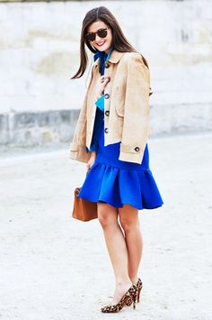 31 Polished Office Looks for Every Day of the Month via @WhoWhatWear