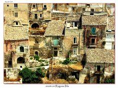 zoom on Ragusa Ibla - Ragusa Ibla, Ragusa