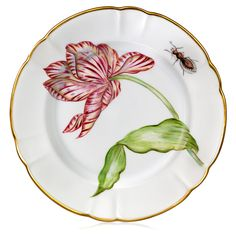 Tulipomanie Dinner Plate, Assorted | China | Tabletop | ScullyandScully.com
