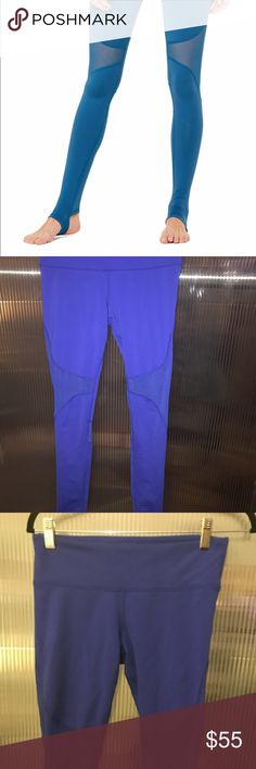 Alo Yoga Coast stirrup legging Royal Blue size M These are in a Royal Blue, not the shade pictured in the stock photo. Lightly worn with no stains, holes, or pilling. https://www.aloyoga.com/products/w5439r-coast-legging?variant=4683560386587  - Engineered to lift, sculpt, contour and smooth - Wear-tested by our in-house team for the perfect fit - 4-way-stretch fabric for a move-with-you feel - Moisture-wicking antimicrobial technology - Hidden key pocket ALO Yoga Pants Leggings