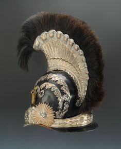 Armours, Helmets, Headdress, Bourbon, 19th Century, French, Inspiration, Objects, Military Men