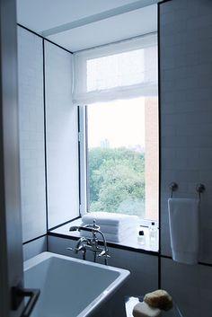 Bathroom window ideas- head into Atkinson's and makes these ideas a reality