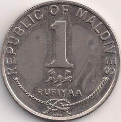 Wertseite: Münze-Asien-Malediven-Rufiyaa-1.00-1984-1996