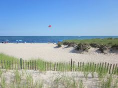 Parasailing over Nantucket Sound at Blue Water Riviera Resort Cape Cod, MA