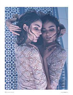 Mike Desir: Vogue Ukraine /SyDelorme/ Zuzanna Bijoch/ Alba Odnelem Aicrag/ Angelik Lfennecker/ Mike Desir