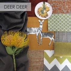 Stuart Graham, Mood Boards, Deer, Textiles, Personalized Items, Fabric, Blog, Inspiration, Tejido