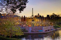 The France pavilion at #Epcot. #Disney
