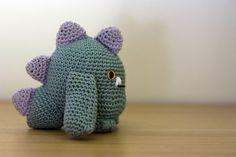 amigurumi monster by perlinavichinga, via Flickr