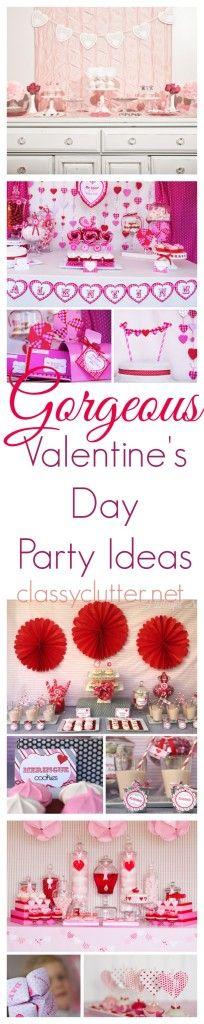 Gorgeous Valentine's Day Party Ideas