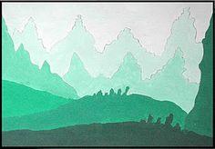 landscapes in tonal gradation