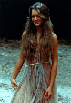 Brooke Shields in The Blue Lagoon, 1980.