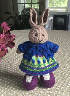 from Ravelry projects little cotton rabbits