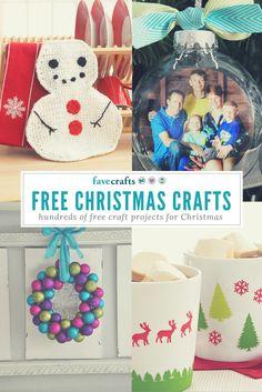 So many Christmas craft ideas!