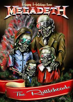 Megadeth Christmas Card 2014 Contest Winners | Megadeth.com