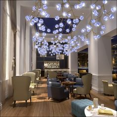 New bar in The Intercontinental Amstel Hotel in Amsterdam: A Bar