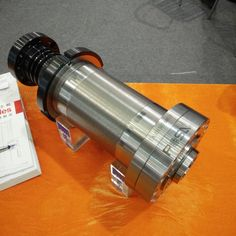 machine tool spindle cnc lathe spindle belt drive A2-4 6000rpm 120mm spindle posa high quality