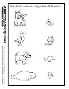 Baby Animals Names Baby animals Worksheets and Animal