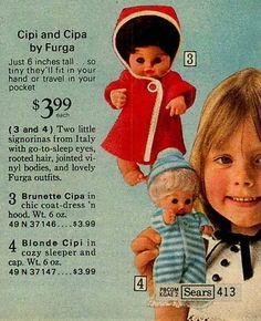 1972 Cipi and cipa by Furga